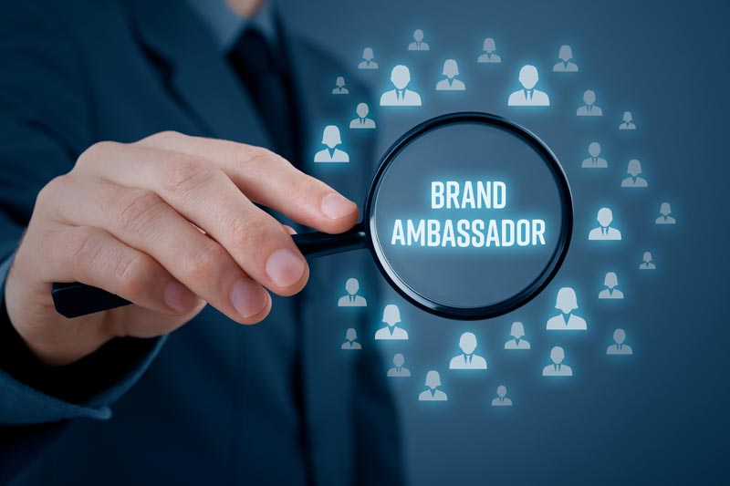 using brand ambassadors for your company
