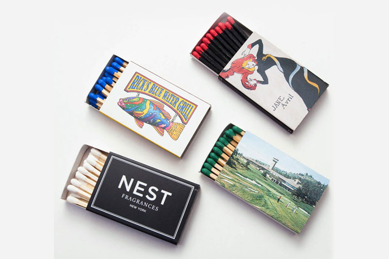 garner attention with custom matchbooks