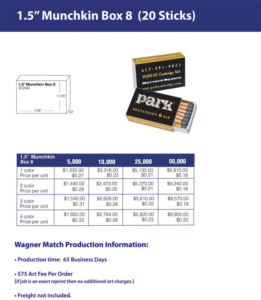 Munchkin/ Box 8 - One and a Half Inch