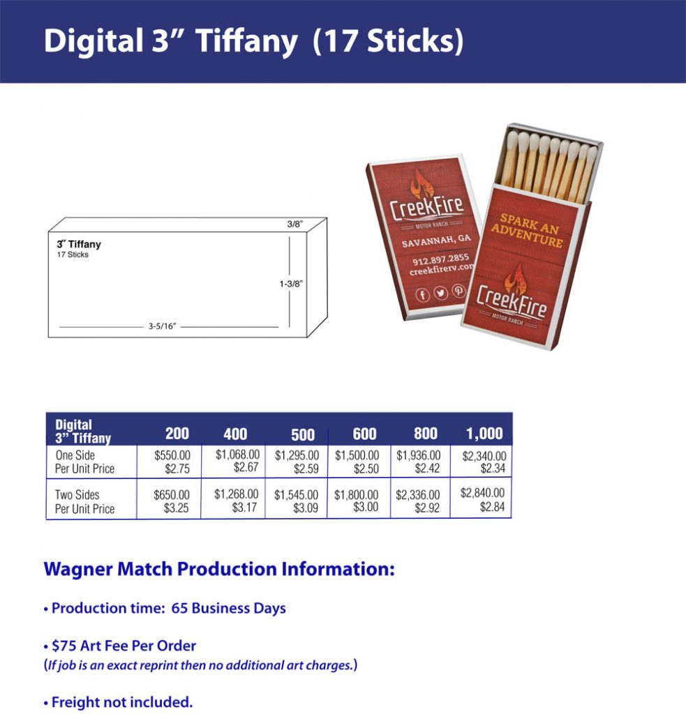 Quickrun Tiffany – Three Inch