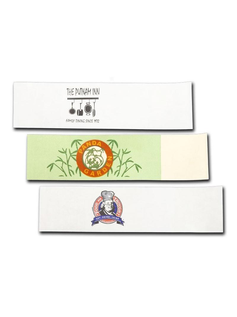 1 5 X 6 Paper Napkin Bands Self Adhesive